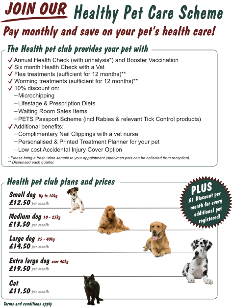 Join Healthy Pet Care Milton Keynes Veterinary Group
